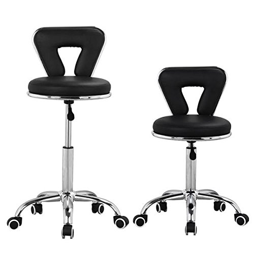 Topeakmart Spa Pedicure Chair Stool For Nail Hair Facial Technician Black Buy