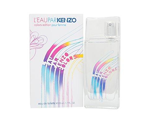 Kenzo L'Eau Par Colors Edition Eau De Toilette Spray for Women, 1.7 Ounce