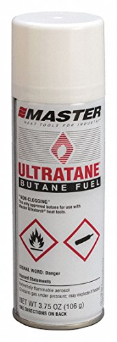 Heat Propane Torch (Master Appliance Ultratane Butane, 3.75 oz, 106 grams (Pack of 4))