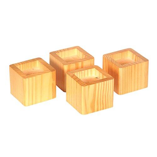 Richards Homewares Wood Lifters Honey