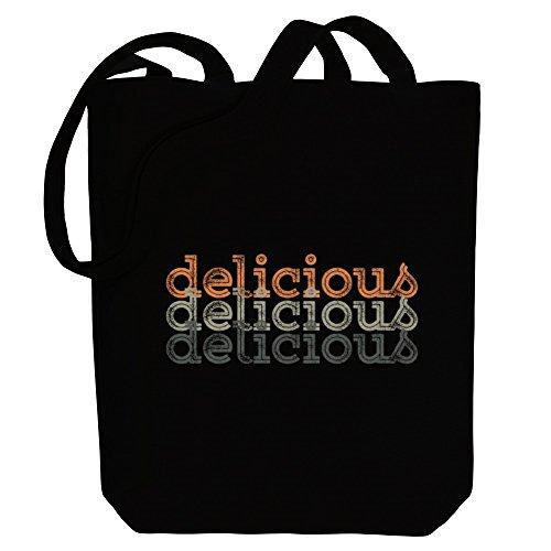 Idakoos delicious repeat retro - Adjektive - Bereich für Taschen