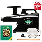 Tribest Greenstar Elite GSE-5010 Jumbo Twin Gear Cold Press Juice Extractor - Black Special Package