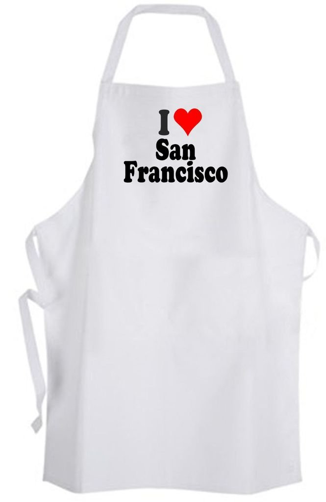 I Love San Francisco – Adult Size Apron