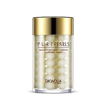 Amazon.com: 1pc puro perlas impregnado piel suave como la ...