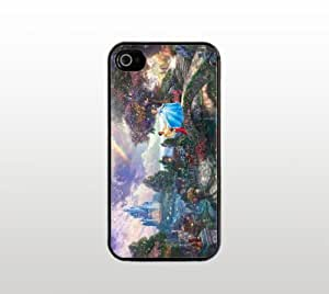 Cinderella Snap-On Case for Apple iPhone 5- Hard Plastic - Black - Cool Custom Cover