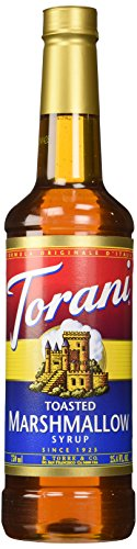 Torani Syrup, Toasted Marshmallow, 25.4 Ounce (Pack of 4) -