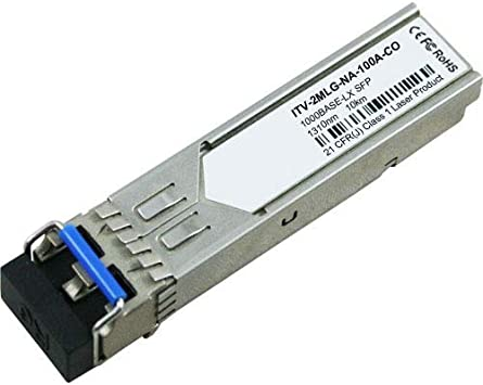 1000BASE-LX SFP 1310nm 10km DOM MMF//SMF LC OEM Compatible Transceiver SFP-GE-L-ENC Included ENET Components
