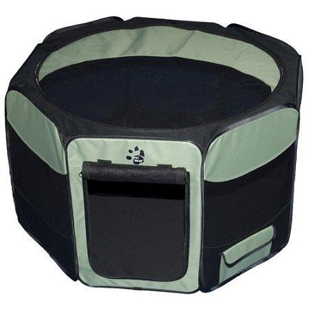Dog Kennels & Pens - Travel Lite Soft-Sided Pet Pen - Medium/Sage (Pet Gear Travel Lite Dog Crate)