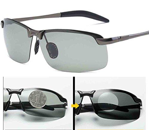 Mg Mens 1 Protection Lunettes Light Frame Metal La Hommes Wayfarer Ultra Soleil De De Polarized Conduite Al PqxfSz