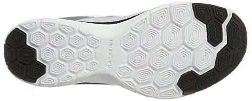 Flex Trainer black 6 mtlc Blanc white Fitness Chaussures Femme De Platinum Nike aqfdq