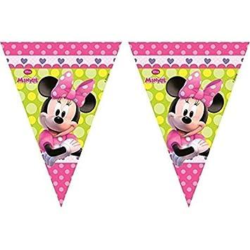 PEQUEFIESTA 00227; Banderin Disney Minnie Mouse, Ideal para ...