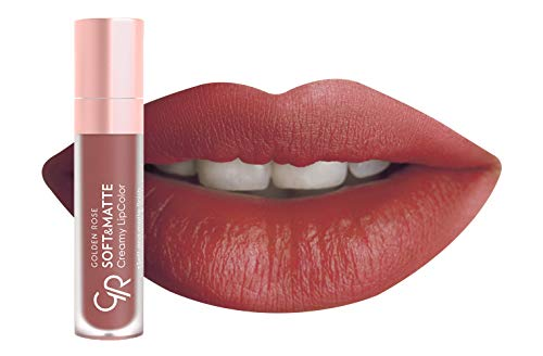 Golden Rose Soft and Creamy Matte Liquid Lipstick – 113 Coffee