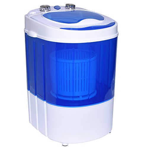 Price comparison product image Ivation Super Mini Portable Washing Machine, Washer/Spinner  Compact Size Perfect for Travel  Ideal for Washing Small Loads & Delicates at Home, Dorms, RVs, Pools, Body Shops, & Apartments