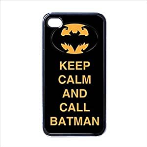 KEEP CALM AND CALL BATMAN for iPhone 5 5s protective Durable case