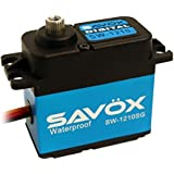 Savox .15/277.7 Aluminum Case Waterproof Coreless Digital Servo