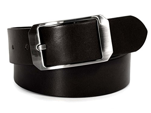 (CU6-133) Mens Belt 100% Real Leather Black, Brown, White Size 28~36