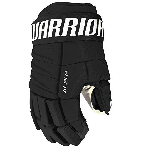 Warrior Junior Alpha Qx4 Gloves, Size 11, Black -