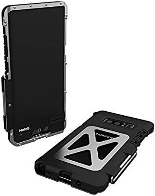Amazon.com: Kinglc - Carcasa de aluminio para Galaxy Note 8 ...