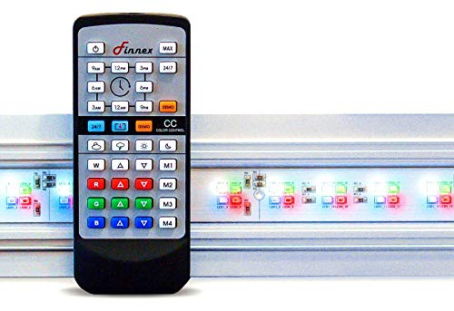 Finnex Planted+ 24/7 HLC Aquarium LED Light, Automated Full Spectrum Fish Tank Light, 46.5-48 Inch