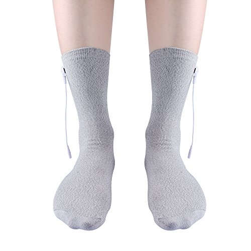 3 Pairs Silver Conductive Massage Socks for Tens/ems Machine to Stimulate Blood Circulation