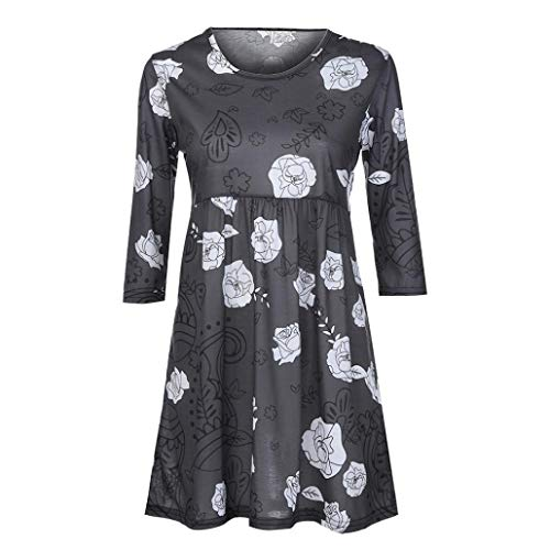 Courtes Gris Solid V Col Dcontract Top DAYLIN Chemisier Femme Fonc Manches ztq0Paw