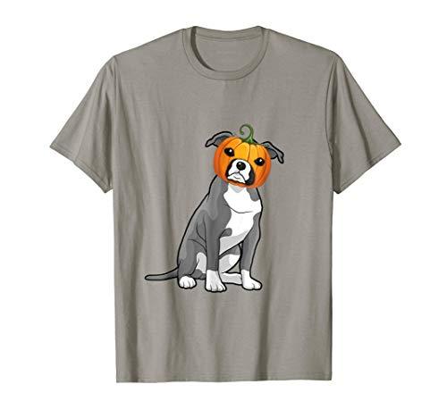 Funny Boxer Dog Pumpkin Halloween Costume Gift T Shirt -