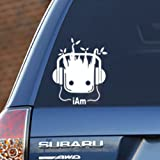 """I Am Groot – 4"""" wide x 3"""" tall, vinyl decal - for windows, cars, trucks, tool boxes, laptops and tablets"""