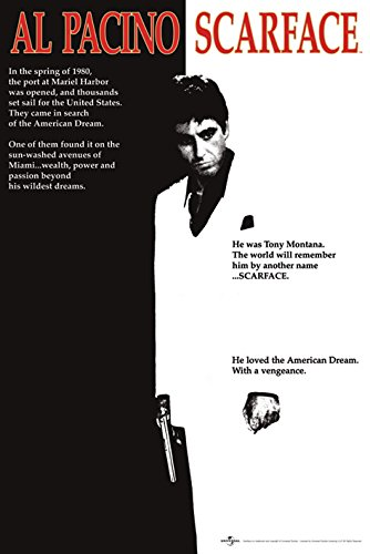 Poster 130R Scarface One Sheet 61X91,5