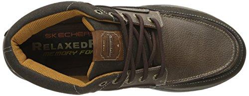 Skechers ExpectedCason - zapatilla deportiva de piel hombre marrón - marrón (Choc)
