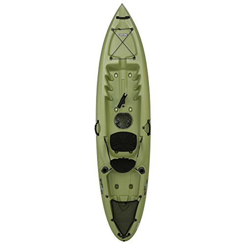 Lifetime Weber Sit-On Top Fishing Kayak, Light Olive, 11' by Lifetime