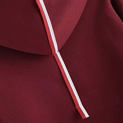 Longues Femmes Sweatshirt Pull Covermason Hoodie Pullover Loose A41Cwxxdq