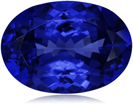0.90-1.40 Cts of 8x6 mm AAAA (Heirloom) Oval Genuine Natural Arusha Tanzanite (1 pc) Loose Gemstone