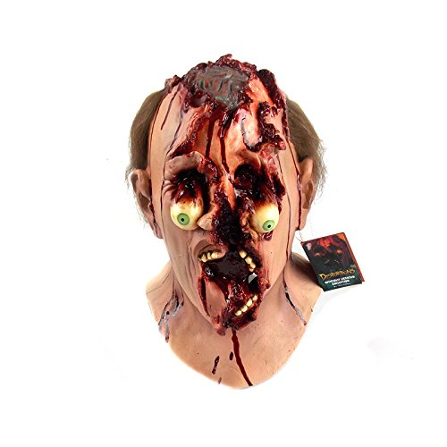 Trick or Treat Studios Men's Distortions Unlimited Collection-Blasted Mask, Multi, One Size ()
