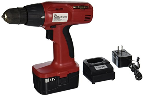 Hiltex 10542 18V Cordless Drill and Driver | Includes Charger & Battery | 3/8