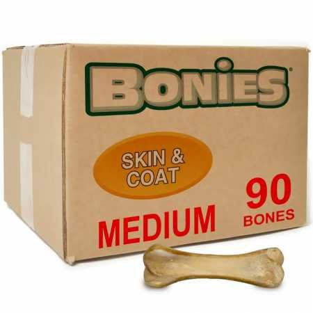 Green Pet Organics BONIES Skin Coat Health Bulk Box Medium (90 Bones)