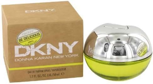 New DKNY BE DELICIOUS EAU DE PARFUM SPRAY 1.7 OZ For Women Genuine Brand Professional Makeup Result