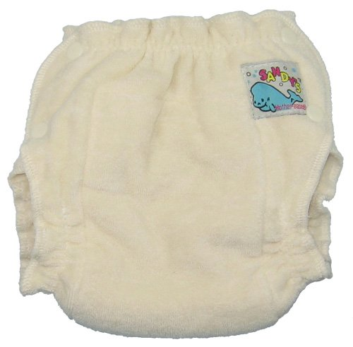 Mother-ease Sandy's Cloth Diaper (Small, Unbleached)