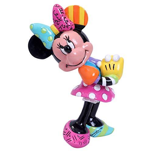 Enesco Disney by Britto Minnie Mouse Miniature Figurine, 3.15 Inch, Multicolor