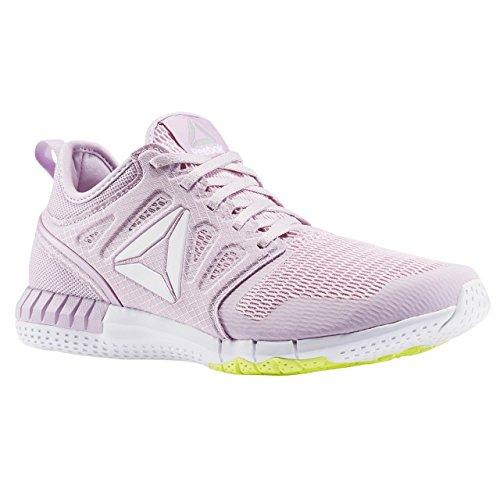 Reebok Bd5571, Zapatillas de Trail Running para Mujer Morado (Shell Purple / Porcelain Pink / Solar Yellow)
