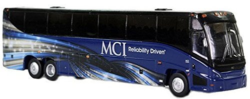 MCI J4500 Motorcoach: MCI Corporate 1/87 Scale-HO Scale New!