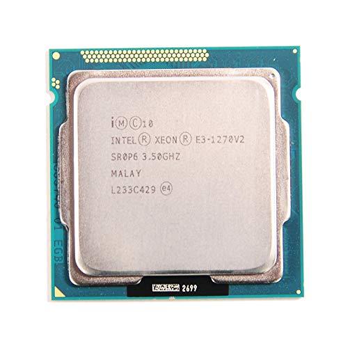 Intel Xeon Quad-Core Processor E3-1270V2 3.5GHz 5.0GT/s 8MB LGA1155 CPU, OEM (Renewed)