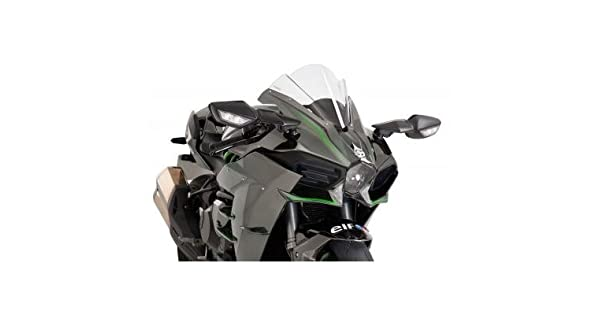 Amazon.com: Puig 7631R Racing Screen for Kawasaki Ninja H2 ...