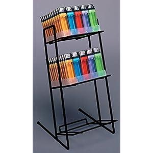 Reverse Slant Deodorant Countertop Rack Retail Display Store Black Lot of 10 NEW