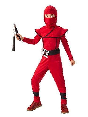 Rubie's Boys Stealth Ninja Red Costume M]()
