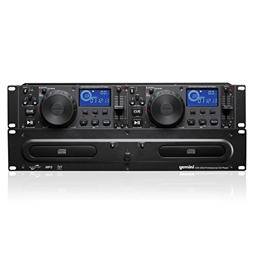 Gemini CDX2250 Dual 2U CD/Mp3 Mobile ()