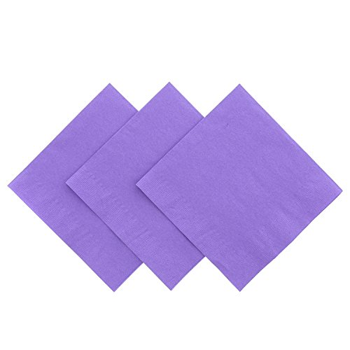 (Royal Purple Beverage Napkin, Package of 200)