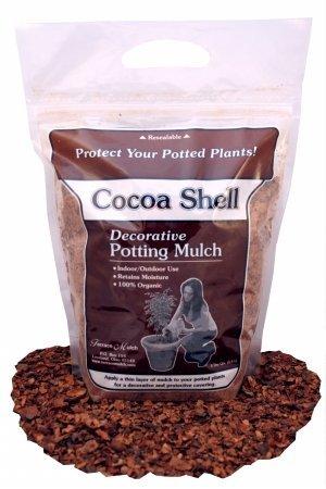 Ohio Mulch Supply 00203 Cocoa Shell Potting Mulch by Ohio Mulch