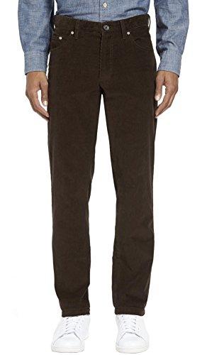 - Kirkland Signature Men's 5-Pocket Corduroy Pant (3834, Brown)