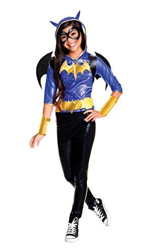 Rubie's Costume Kids DC Superhero Girls Deluxe Batgirl Costume, Large - Batgirl Costumes Girls