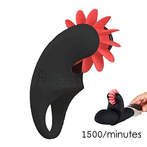 Aronllore 3 Speed Rotation Tongue Licking Toy Female Masturbation Clitoris,Male Delay Penis Ring Cock Rings,Male and WomenSex Toys by Aronllore